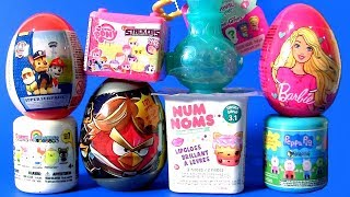 "Shimmer and Shine TOYS SURPRISES 2017 Sanrio Fashems Stackems NUM NOMS Barbie ""Peppa Pig Mashems"""