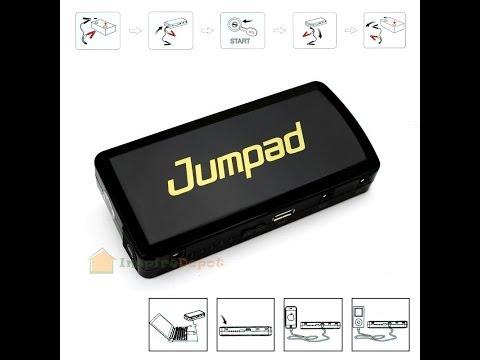 Jumpad ™ 12V Charger Mult-Function Jump Starter Apple Samsung Laptop Charger
