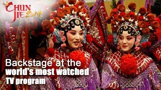 Live: Backstage at the world's most watched TV program探秘春晚后台 你想与谁邂逅?