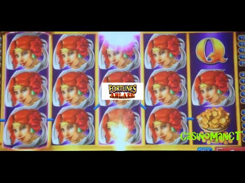 *BIG WIN!* Fortunes Ablaze - Konami Slot Machine Bonus