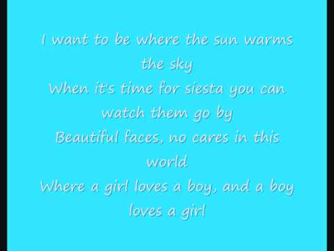 Madonna La Isla Bonita Lyrics video