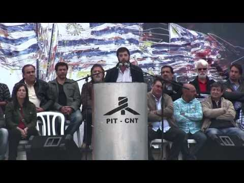 PIT CNT Acto 1 de mayo 2015 Uruguay HD