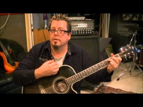 Creedence Clearwater -  Proud Mary - Acoustic Guitar Lesson By Mike Gross