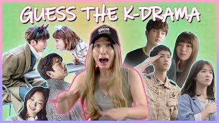 KOREAN DRAMA CHALLENGE: GUESS THE K-DRAMA