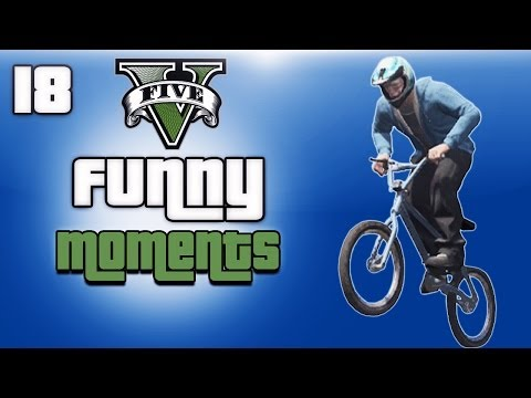 GTA 5 Online Funny Moments Ep. 18 (BMX Flying Glitch)