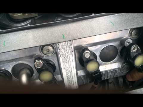 2006 yamaha fx ho spark plug / coil relacement