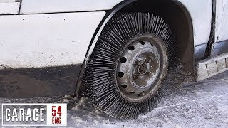 3.000 NAILS instead of a TIRE