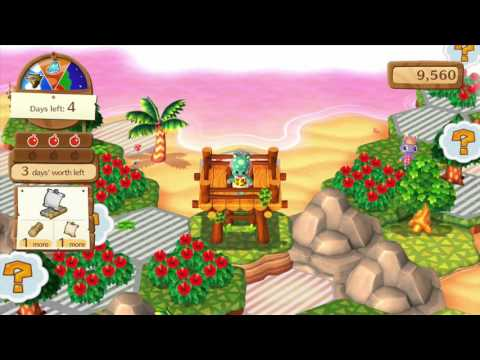 Animal Crossing: Amiibo Festival - Desert Island Escape - Islands 3 and 4