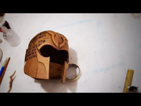 #60: Magneto (DoFP) Helmet DIY Part 1 - Cardboard (template available)