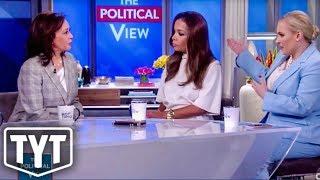 Kamala Harris DENIES Meghan McCain