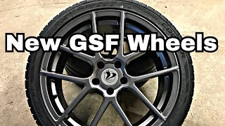 NEW WHEELS FOR THE GSF