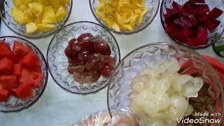 Cách làm món hoa quả dầm đơn giản và thật ngon miệng