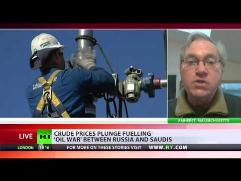 'Saudis playing dangerous game as oil prices plunge'