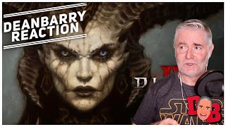 Diablo IV - Official Announcement Cinematic Trailer REACTION