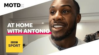 A night in with Michail Antonio | MOTDx