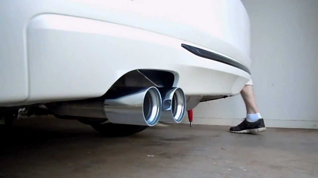 Bmw F30 328i M Performance Exhaust Part 1 Youtube