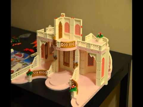 Montage d 39 un chateau princesse playmobile youtube for Chateau princesse playmobil 5142