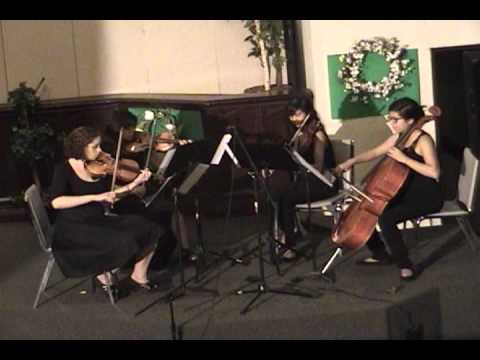 Lead Me, Lord String Quartet video