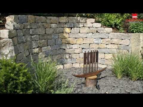 Garten- U. Landschaftsbau Mit Fränkischem Muschelkalk