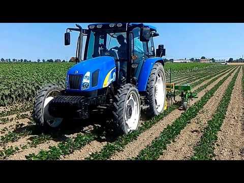 Maintech - Controllo meccanico delle malerbe su soia biologica