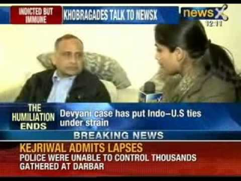 Devyani Khobragade returns home, Uttam and Devyani Khobragade talks exclusively with NewsX