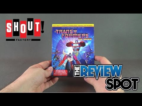 Blu Ray Spot - Shout Factory The Transformers: The Movie [30th Anniversary Edition] Blu Ray