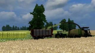 Landwirtschafts, Simulator, 2011, GPS, Häckseln, bei, Schwesing, BHF