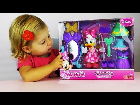 ✿ Минни Маус Дисней Дейзи Дак Набор с Платьями Распаковка Disney Minnie Mouse and Daisy Duck toys
