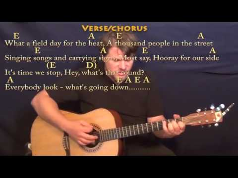 For What It's Worth (Buffalo Springfield) Guitar Cover Lesson with Chord/Lyrics