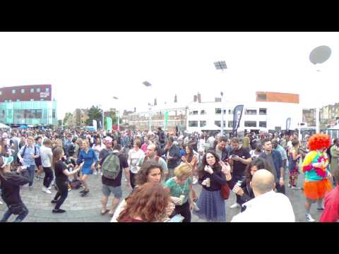 Dalston Music Festival, London, 2016   360 Panoramic View
