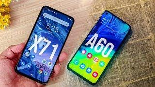 Samsung Galaxy A60 Vs Nokia X71 (6.2) !! Brand War !! Kon Jeetega !!