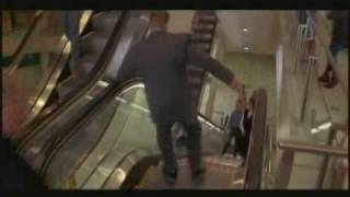 Schindler Escalators At A  Melbourne Mall  In Jackie Chan's Mr Nice Guy - Feature Film - Scene