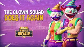 The Clown Squad Does It Again!! Fortnite Battle Royale Gameplay - Ninja