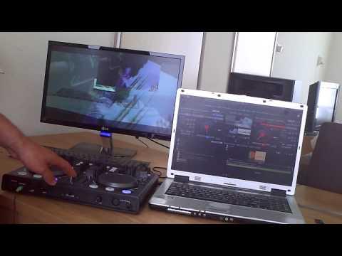 720p HD Video Mix Virtual DJ 7 Pro+ Met Aldi DJ controle