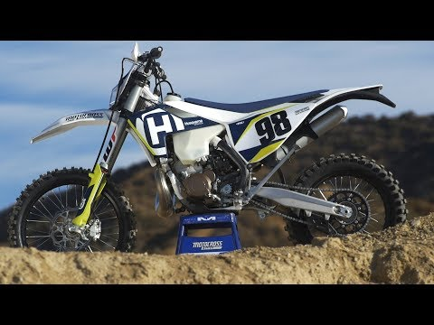 First Ride 2018 Fuel Injected 2 Stroke Husqvarna - Motocross Action Magazine