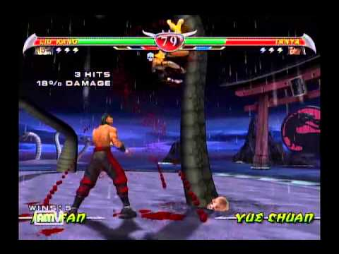 Mortal Kombat Deception in 11:51 (Liu Kang %)