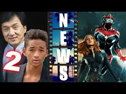 The Karate Kid 2 Jaden Smith & Jackie Chan, Black Widow ...