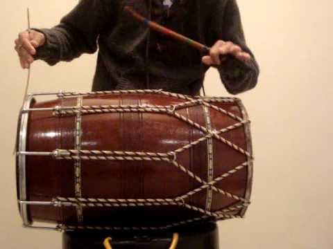 How To Play Dhol - Tirkit video