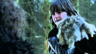 Robb Stark & Theon Greyjoy, Bran stark - Game of Thrones 1x06 (HD)