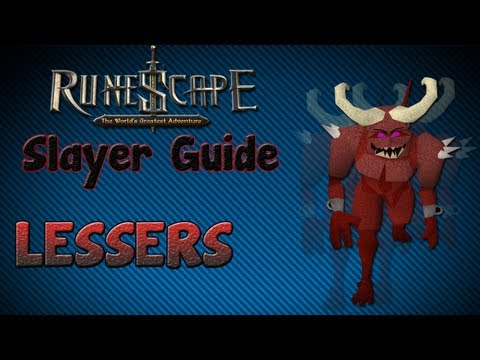"""Runescape 07″ – Slayer guide #22: Lesser Demons!"