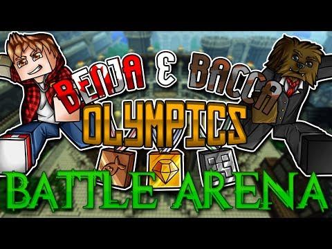 Minecraft Benja And Bacca Olympics  Battle Arena  Challenge  6
