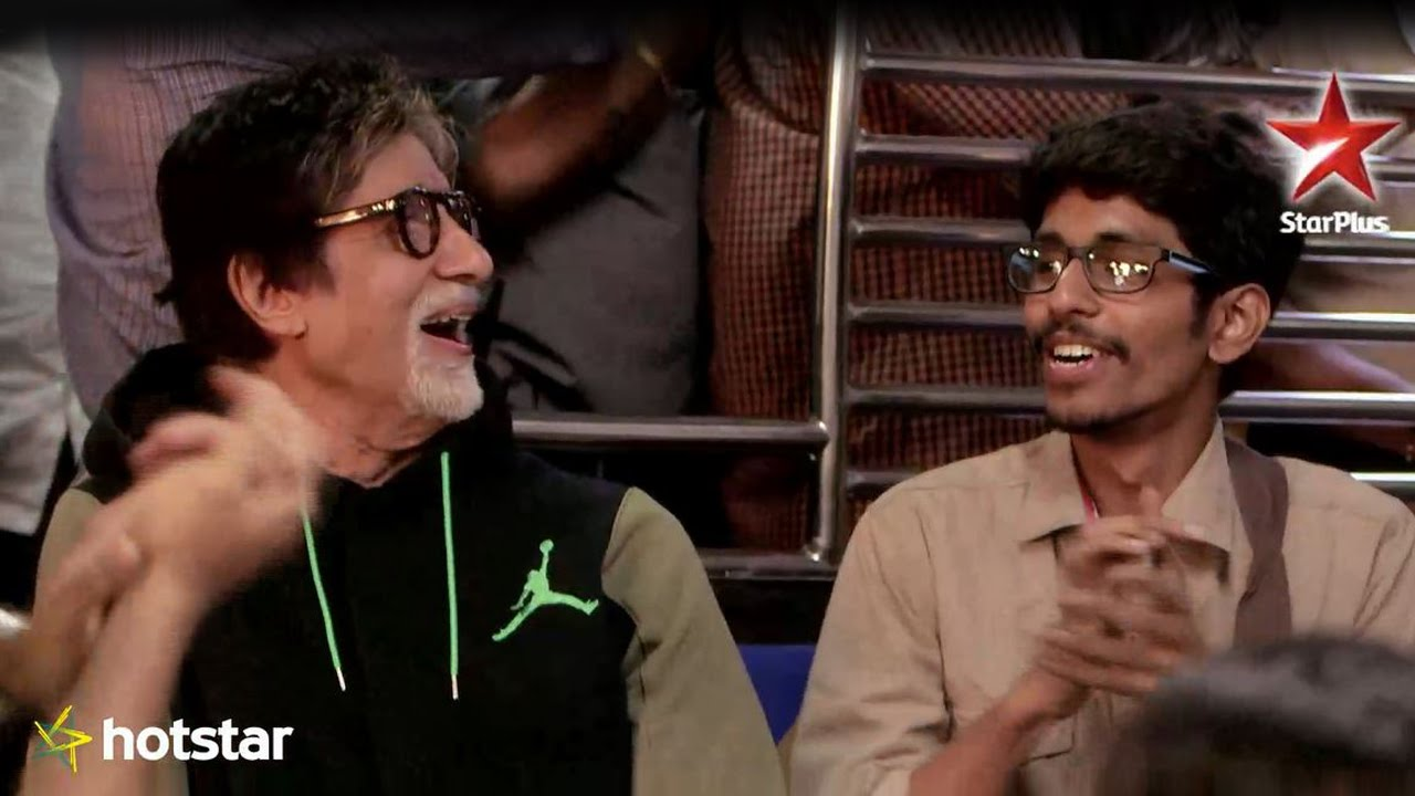 Mr. Bachchan joins Saurabh in a local train to support his initiative