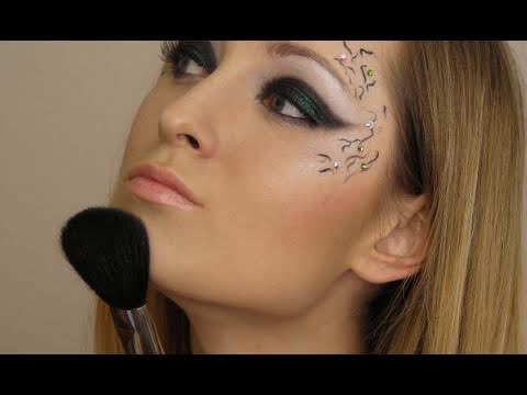 Flirty Dark Angel Make Up Of Darkness Makeup