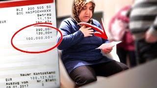 100.000 EURO PRANK AN MEINE MUTTER !!