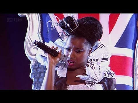 Misha B is Rolling In The Deep - The X Factor 2011 Live Show 1 - itv.com/xfactor