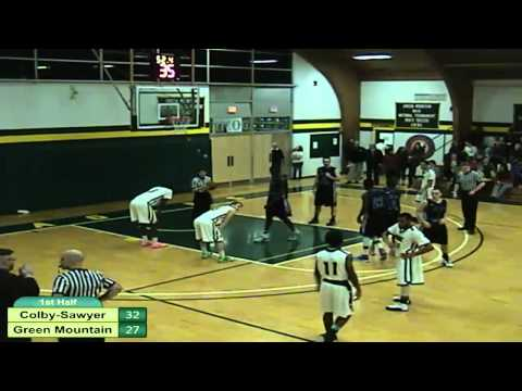 Colby-Sawyer College vs. Green Mountain College Men's Basketball
