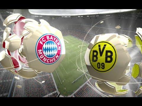 Fifa 13 Online - FC Bayern München vs. Borussia Dortmund