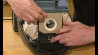 How to change vacuum bags on your vacuum cleaner.