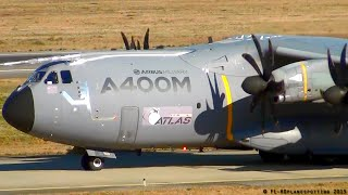 Airbus Military A400M LOUD takeoff at Toulouse-Blagnac [TLS/LFBO] !!