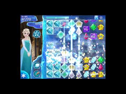 Disney Frozen Free Fall Level 44